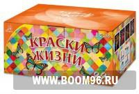 Батарея салюта Краски жизни - Магазин фейерверков и салютов BOOM96.RU с бесплатной круглосуточной доставкой в Екатеринбурге!